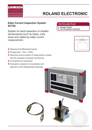 Eddy Current Inspection System ECT40