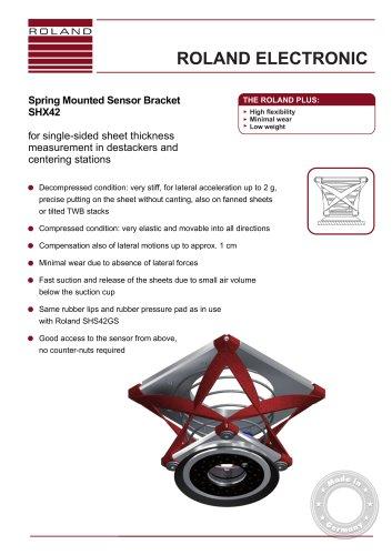 SHX42 Spring Mounted Sensor Bracket