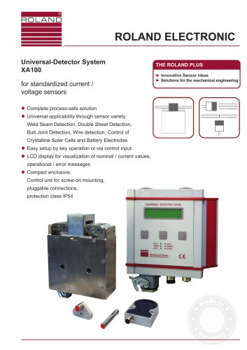Universal Detector System XA100