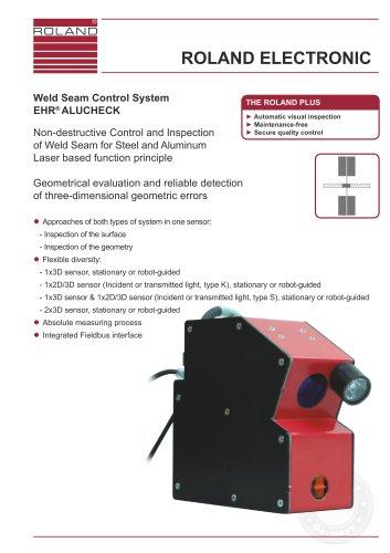 Weld Seam Control System EHR® ALUCHECK