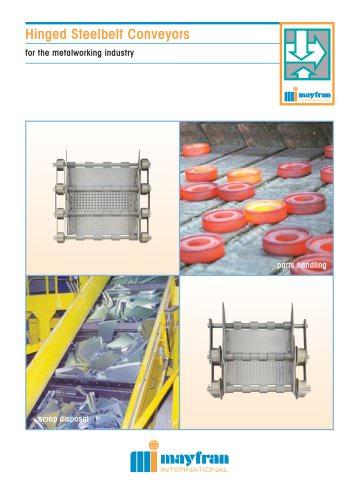 Steel Belt Conveyors for Metalworking