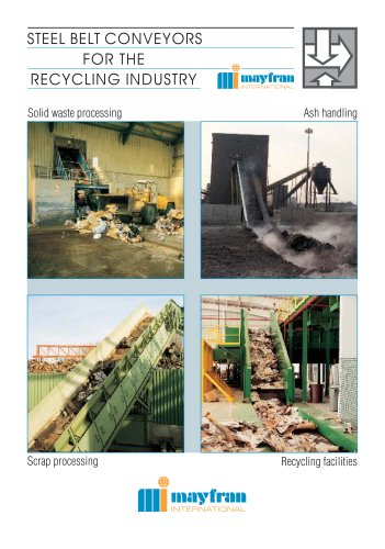 Steel Belt Systems for Recycling