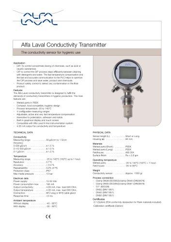 Alfa Laval Conductivity Transmitter