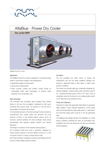 AlfaBlue - Power Dry Cooler