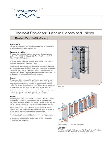 BaseLine - Plate Heat Exchangers