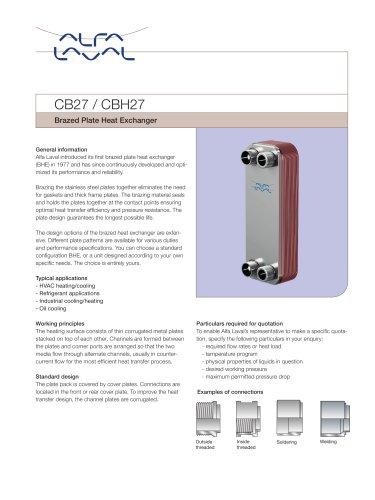 CB27 / CBH27