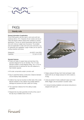 FK(G) - Gravity coils