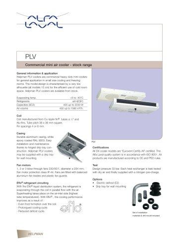 PLV - Commercial mini air cooler - stock range