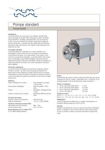Pompe SolidC