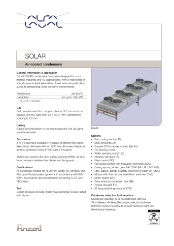 Solar - Air-cooled condensers