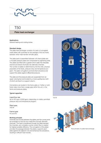 T50 - Plate heat exchanger