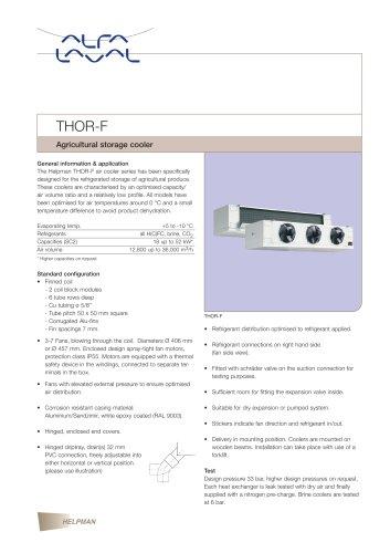 THOR-F - Agricultural storage cooler