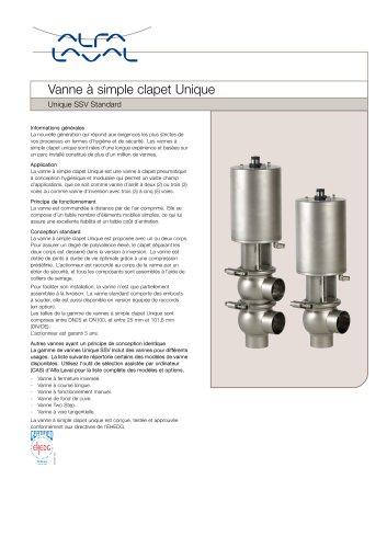 Unique SSV Standard