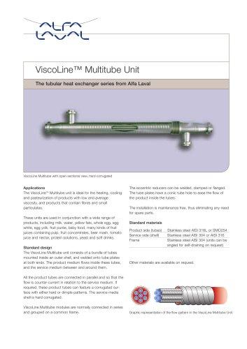 ViscoLine Multitube Unit