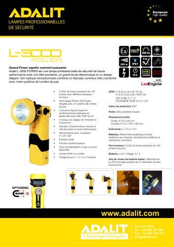 ADALIT L-3000 Power