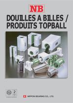 Douilles à Billes / Produits Topball catalogue