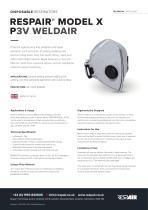 RESPAIR® MODEL X P3V WELDAIR