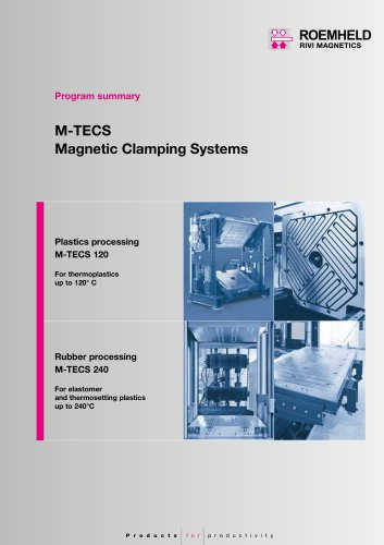Program summary Magnetic clamping systems