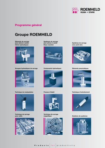 Programme général Groupe ROEMHELD