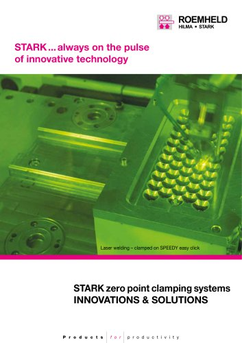 STARK zero point clamping systems - innovations & solutions