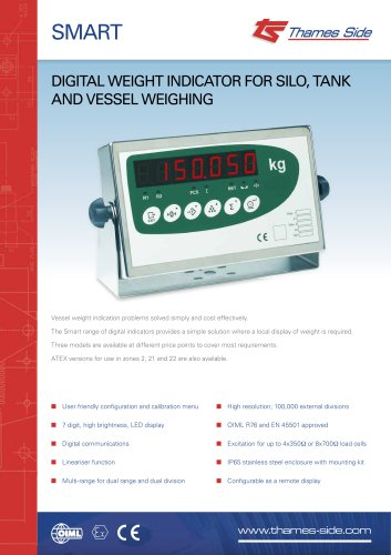 SMART Weight Indicator Data Sheet