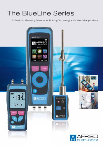 BlueLine-Series: measuring systems for building technology and industrial applications