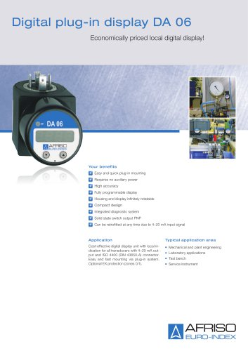 DA 06 - Digital plug-in display