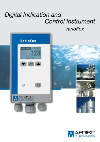 Digital Indication and Control Instrument VarioFox