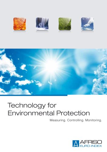 Imagebrochure Technology for Environmental Protection