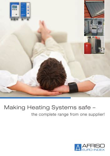 Making Heating Systems safe - the complete range from one supplier!