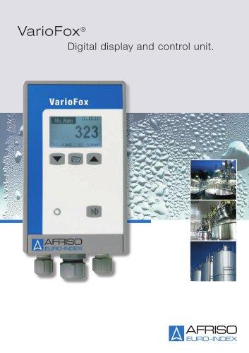 VarioFox - Digital indication and control instrument