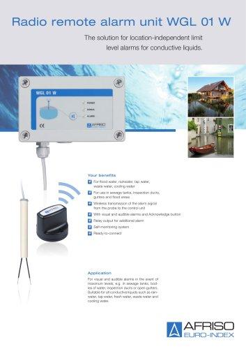 WGL 01 W - Radio remote alarm unit