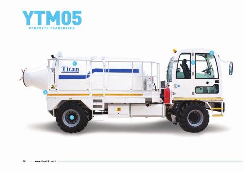 YTM05 concrete transmixer