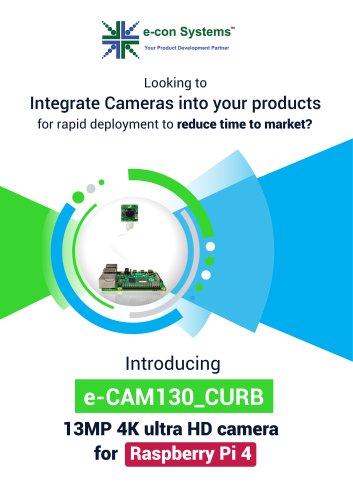 4K MIPI camera for Raspberry Pi 4