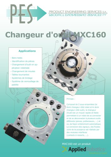 CHANGEUE D OUTIL MXC160
