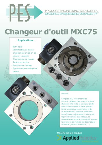 CHANGEUE D OUTIL MXC75