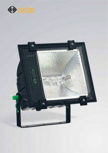 AZAR CORROSION RESISTANT, WEATHER PROOF COMPACT FLOODLIGHT