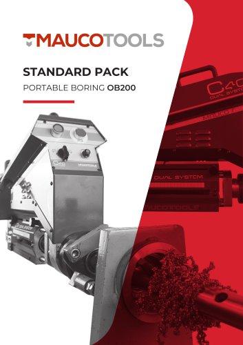 Portable Line Boring Machine OB-200 DUAL SYSTEM