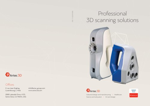 Professional 3D scanning solutions