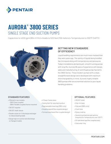 Aurora 3800 Series Brochure