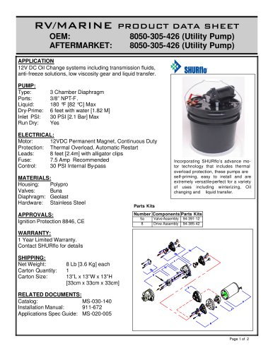 General Purpose Pumps  Oil Change System