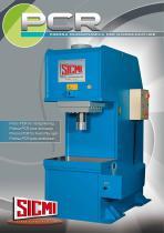 PCR - C-Frame straightening hydraulic press