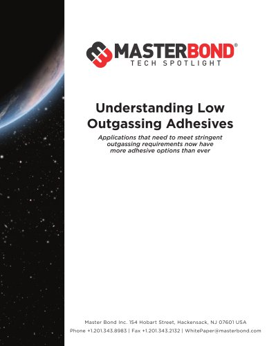 Understanding low outgassing