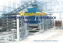 CONCRETE BLOCK & INTERLOCK  MACHINES