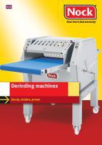 Derinding Machines