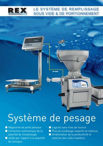 Système de pesage