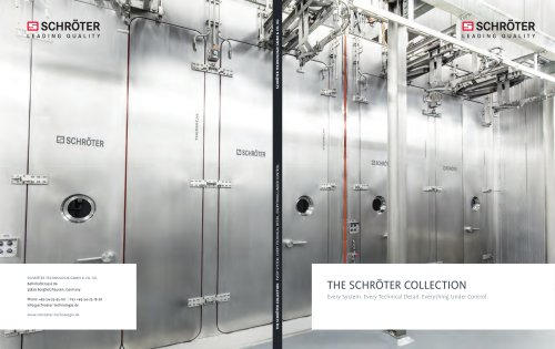 THE SCHRÖTER COLLECTION