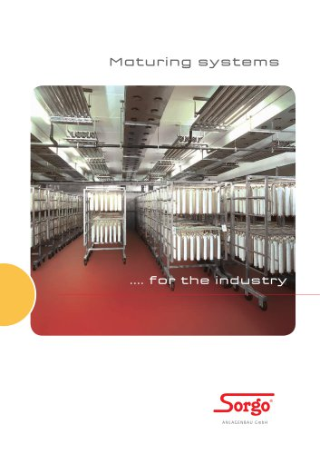 ENERGY SAVING DRYING AND MATURING FOR YOUR QUALITY GOODS