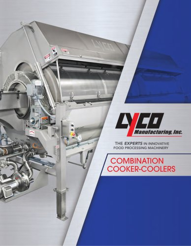 COMBINATION COOKER-COOLERS