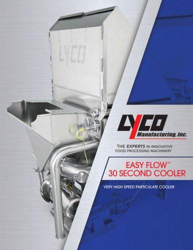 EASY FLOW™ 30 SECOND COOLER